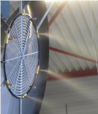 Verneveling ventilator